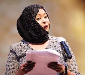 Fatuma Ali reads about the difficulties of having chicken pox as a child.