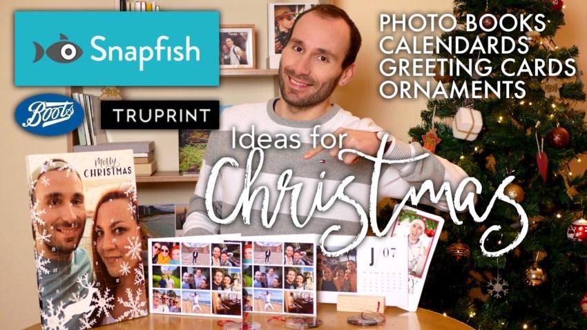 Snapfish Boots Truprint Photo Books Calendars Cards Ornaments Review Ideas For Christmas The Photo Book Guru