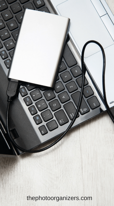 how to find what is using an external hard drive