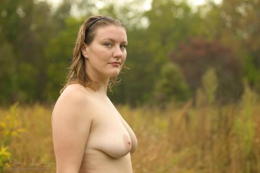 Leah Ashley in the rain by the Photosmith