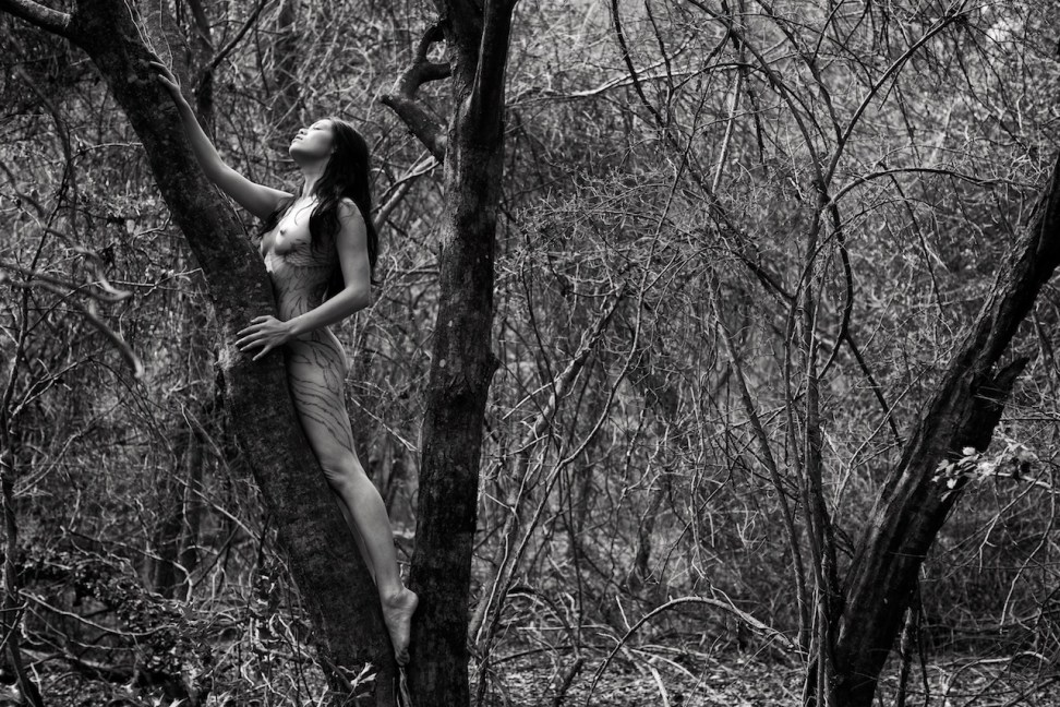the risk it took to blossom - Just Jules nude by Photosmith