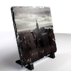 Personalised Square Rock Slate