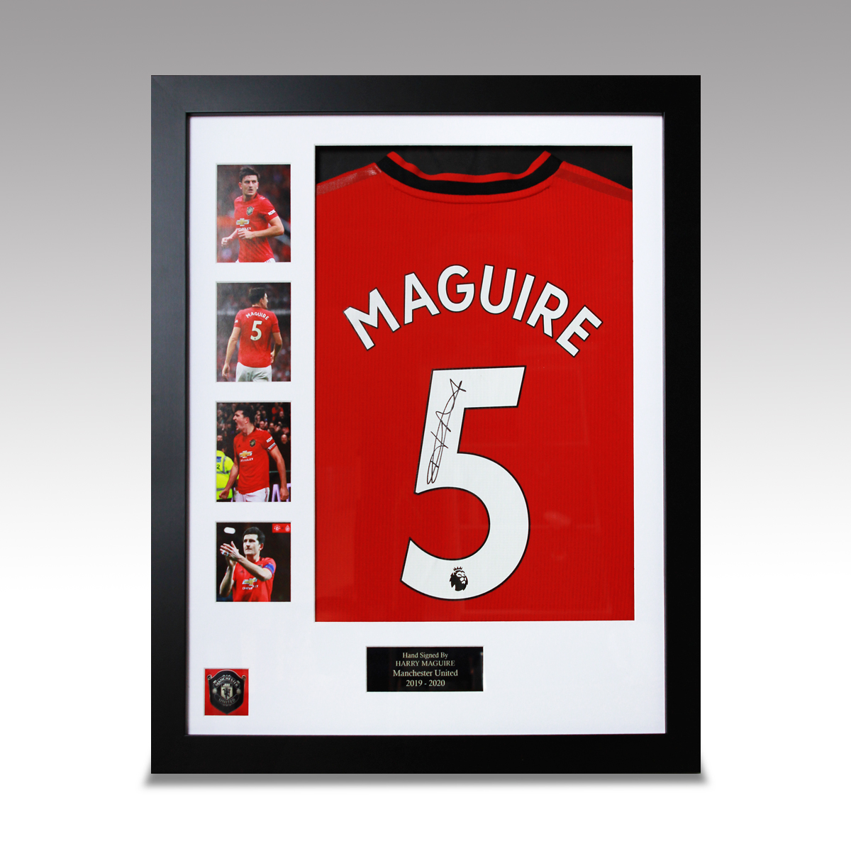 Maguire shirt frame