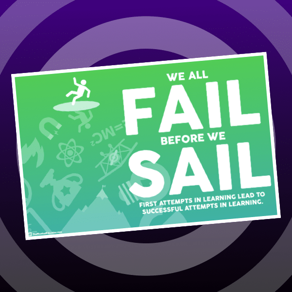 We All Fail Before We Sail Poster