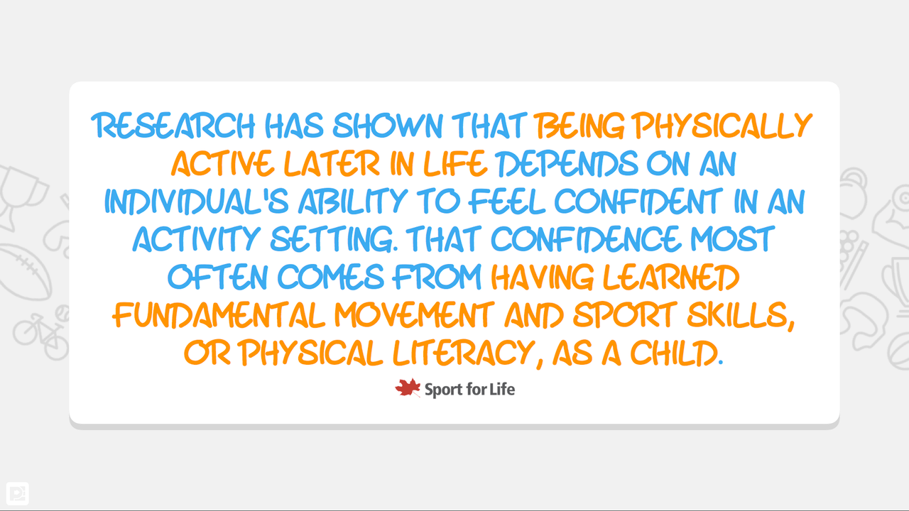 Physical Literacy Quote Education Png 1280x720 Quotes For Middle Schoolers