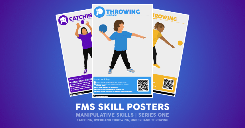 FMS Skill Poster Manipulative Series One Promo