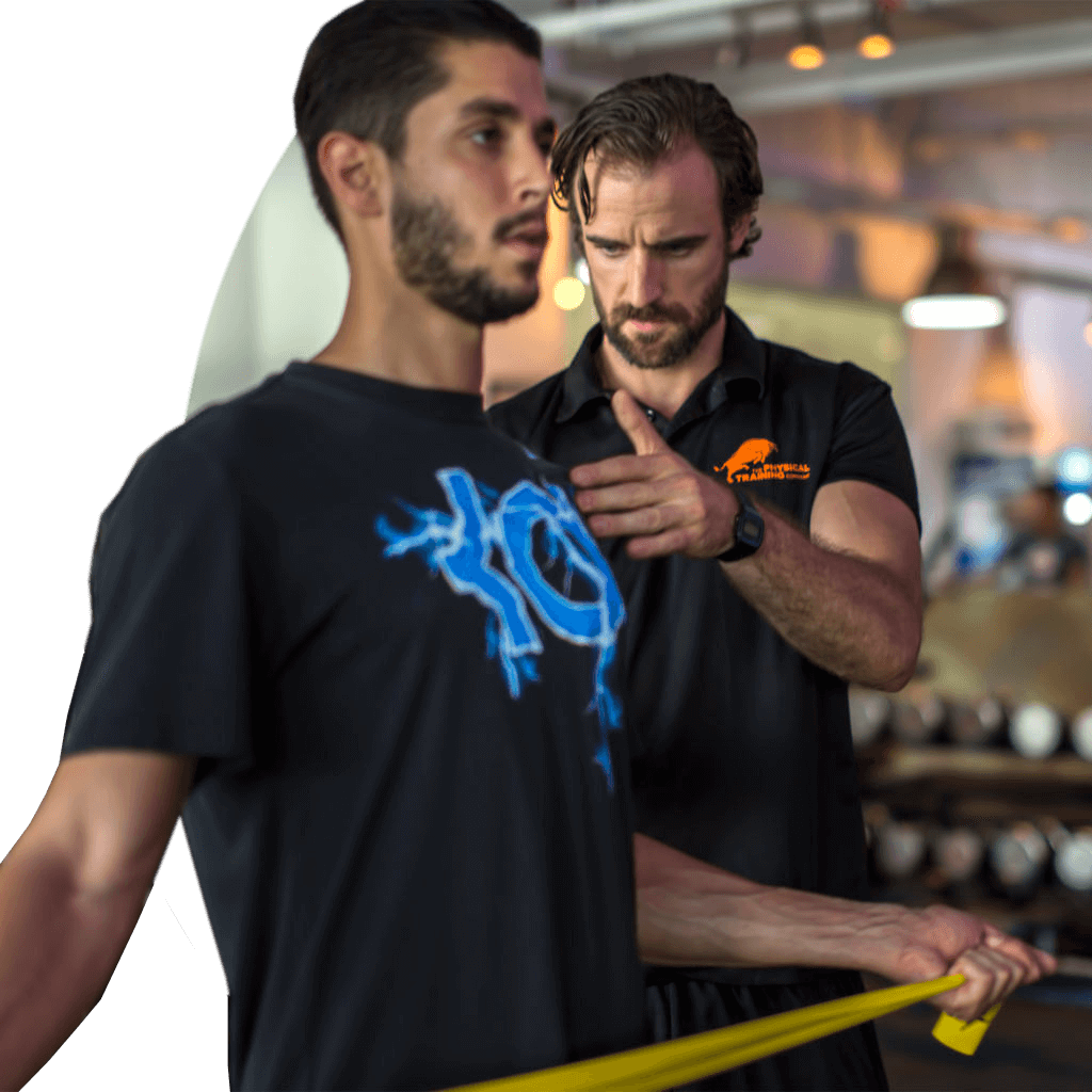 fitness trainer muscle toning personal training dubai