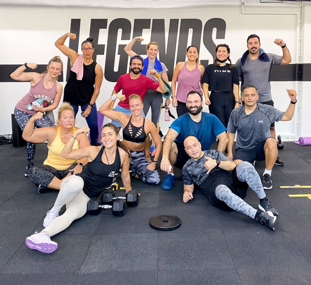 Fitness is always more fun with friends.  Tag your Friday morning squad.