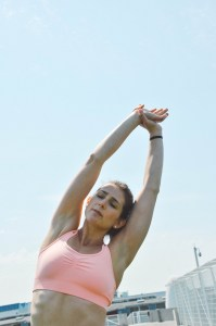 Mindful stretching mantras well-being