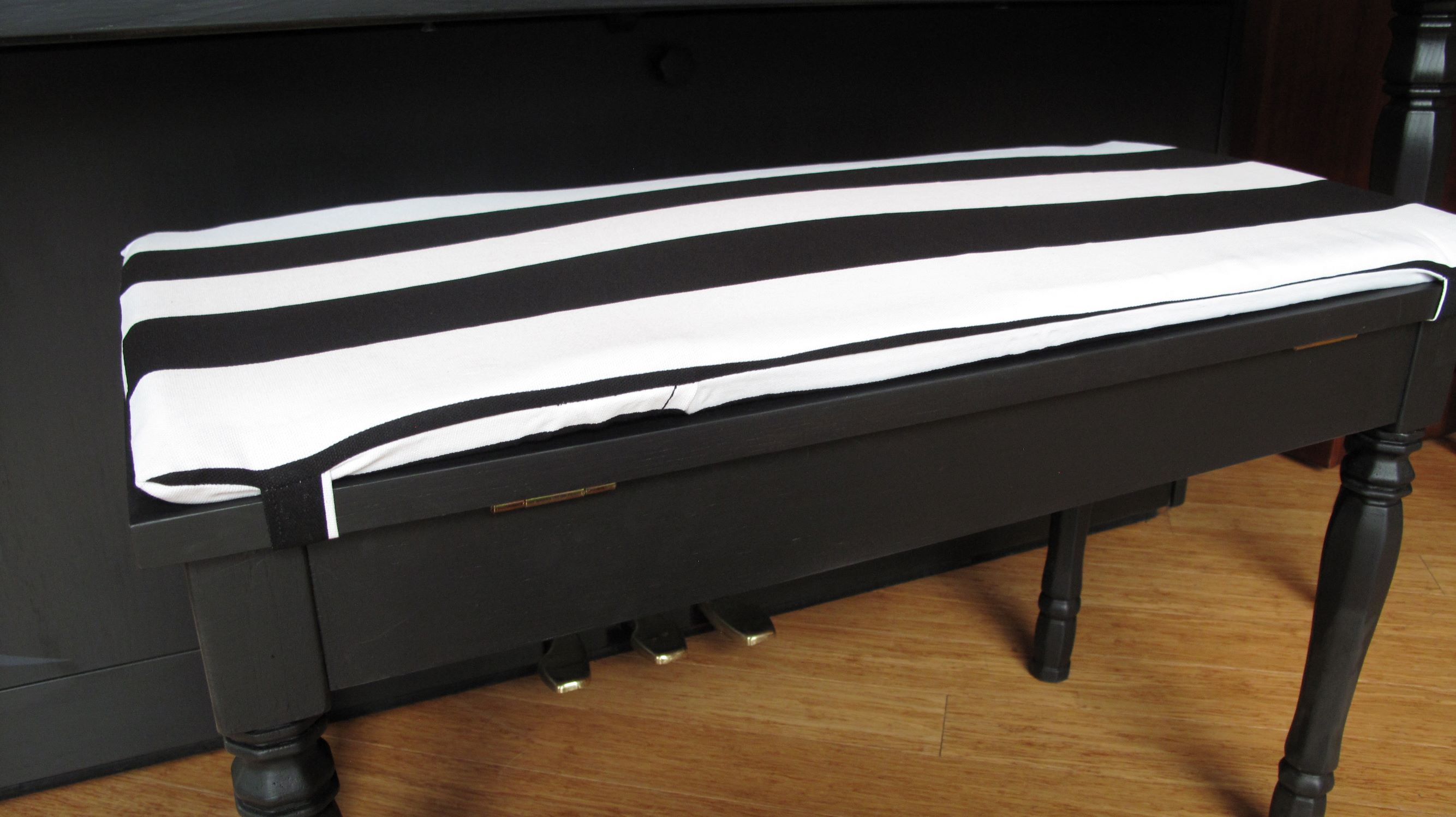 Piano Bench Cushion With Insert Tie On The Piano Gal Shop