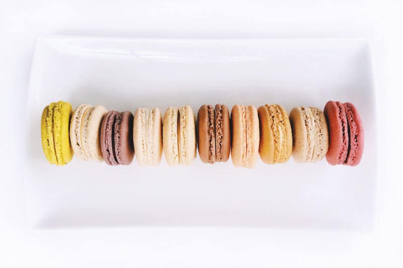 My fave macarons (from Pistacia Vera in CBUS) and plenty of Friday Links - yay!