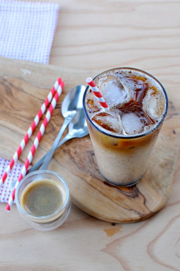 Iced Pumpkin Spiced Latte (vegan & gluten-free)   the pig & quill