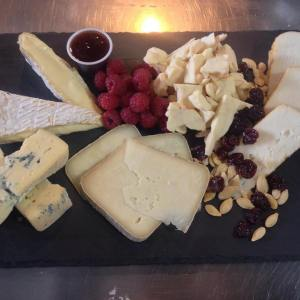 Cheese plate for entertaining
