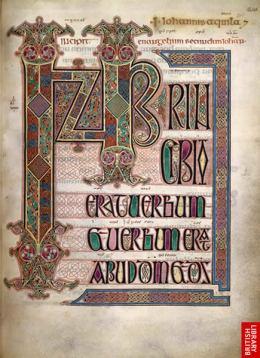 4. Lindisfarne Gospels