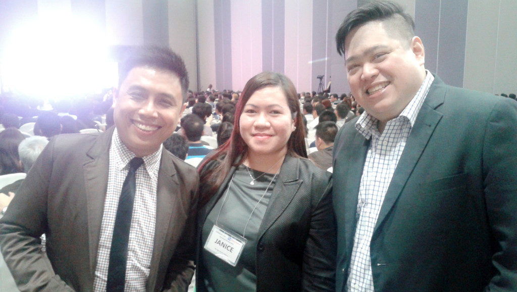 With Marvin Germo & Randell Tiongson