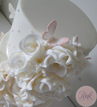 blush-butterfly-rose-wedding-cake