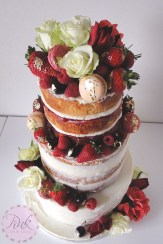 gradient-naked-wedding-cake