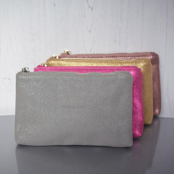 Sparkly Bag Silver