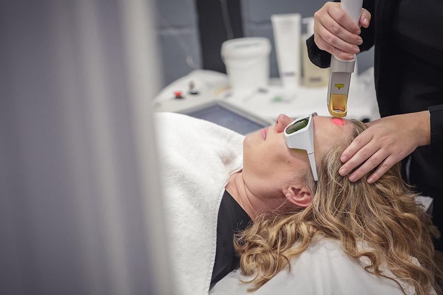 Laser Genesis Skin Treatment