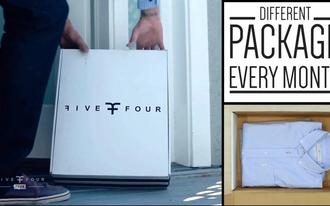 Men's Fashion Subscription – FiveFour – Menlo House Club