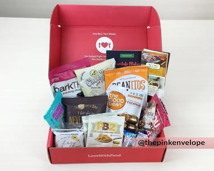 Food Subscription Box – Love With Food Review