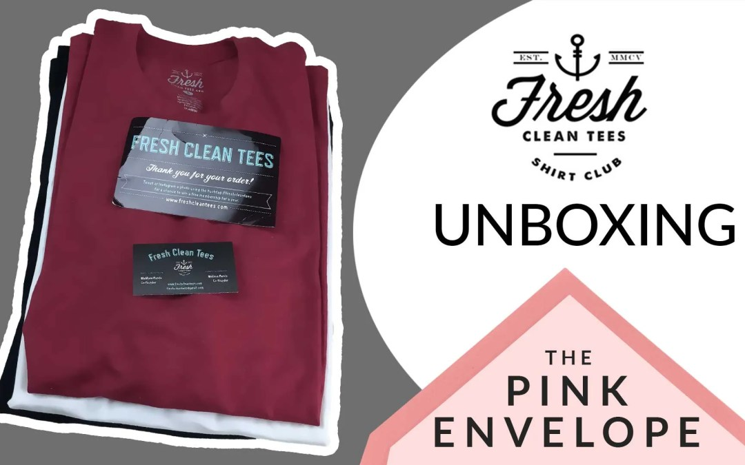 Mens Tshirt Subscription Box – Fresh Clean Tees Review
