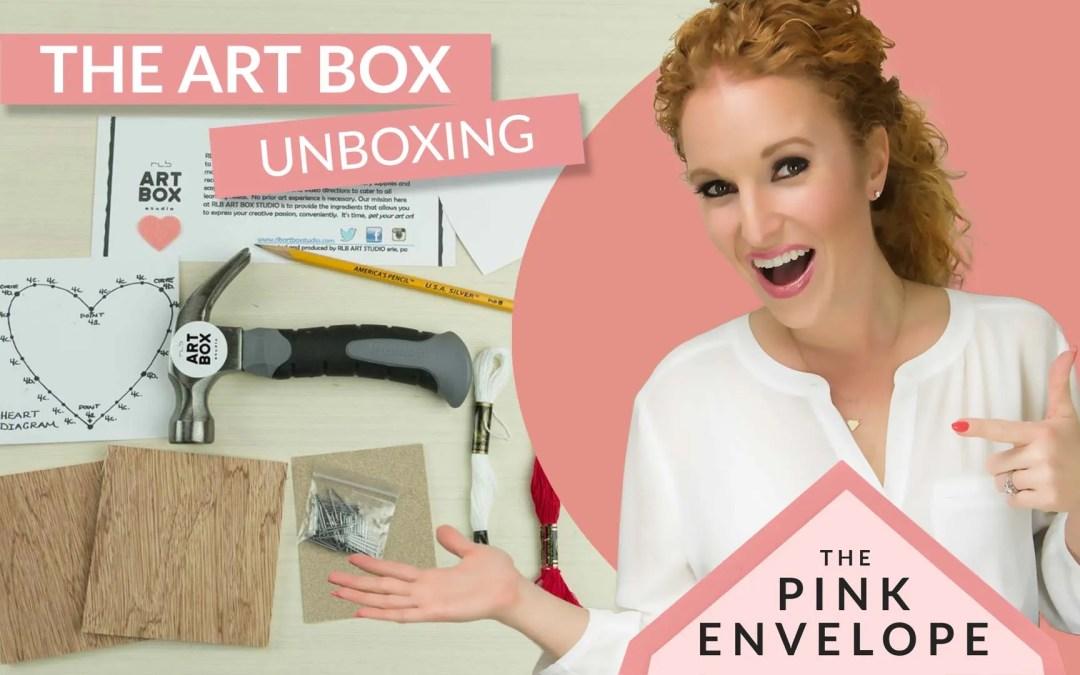 Arts & Crafts Subscription Box – RLB Art Box Studio Review