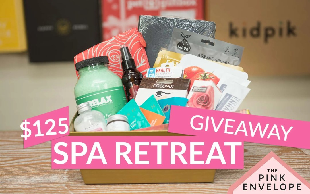 Spa Retreat Gift Basket Giveaway – $125 Value