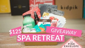 Spa Retreat Basket Giveaway