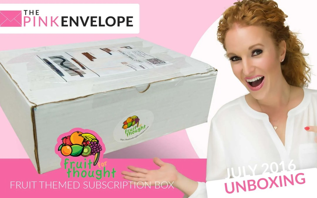 Fruit for Thought Review – Subscription Box