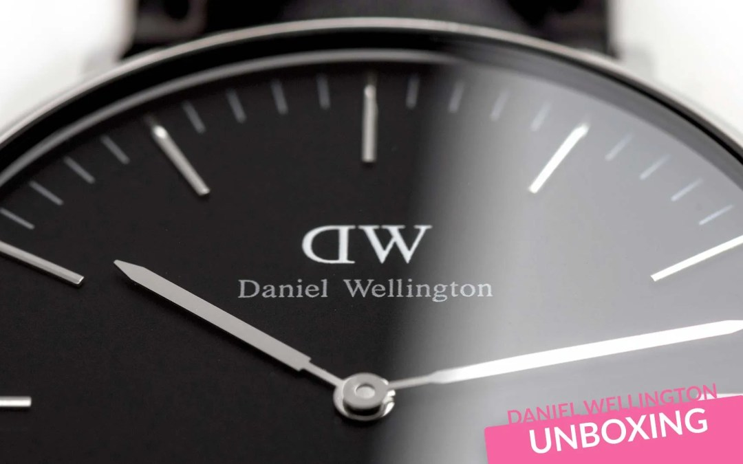 Daniel Wellington Watches – New Black Face Watch Launches