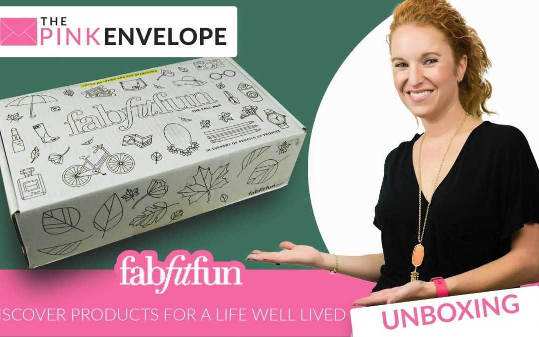 FabFitFun Reviews Fall 2016 Unboxing