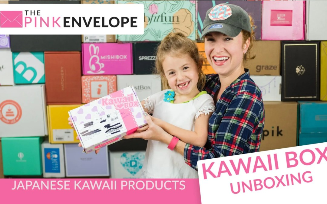 Kawaii Box Review + GIVEAWAY