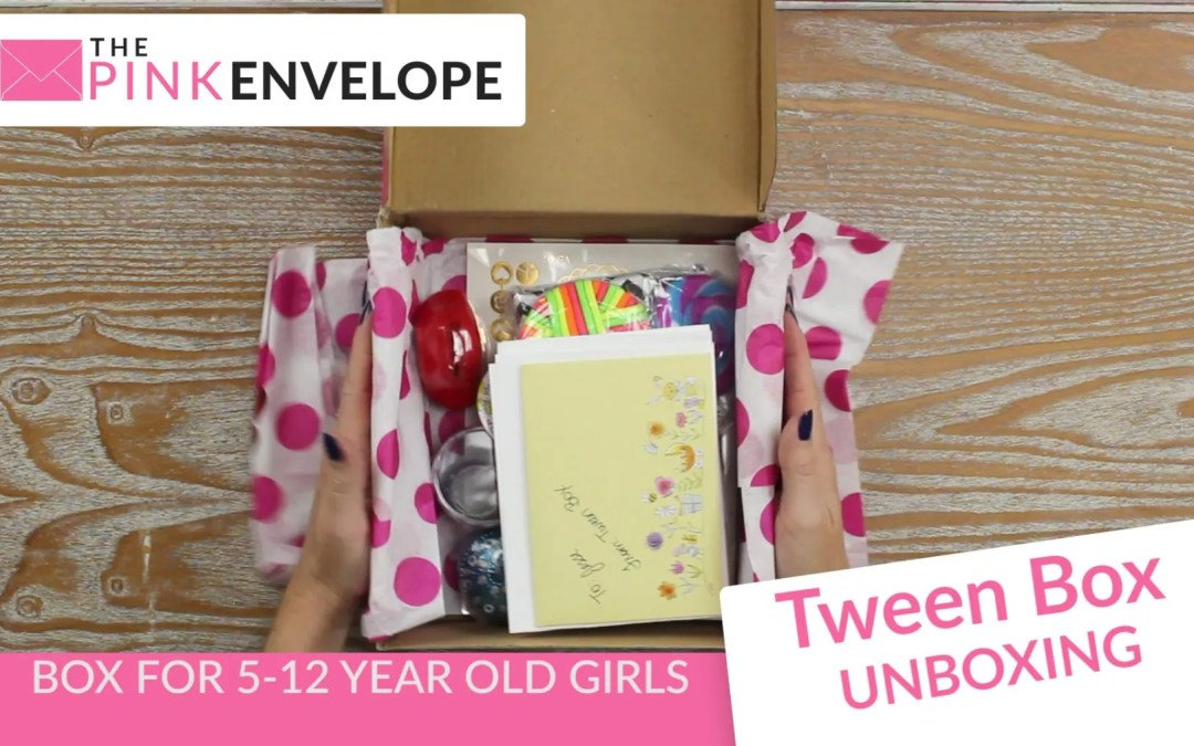 Tween Box Review – a subscription box for tweens