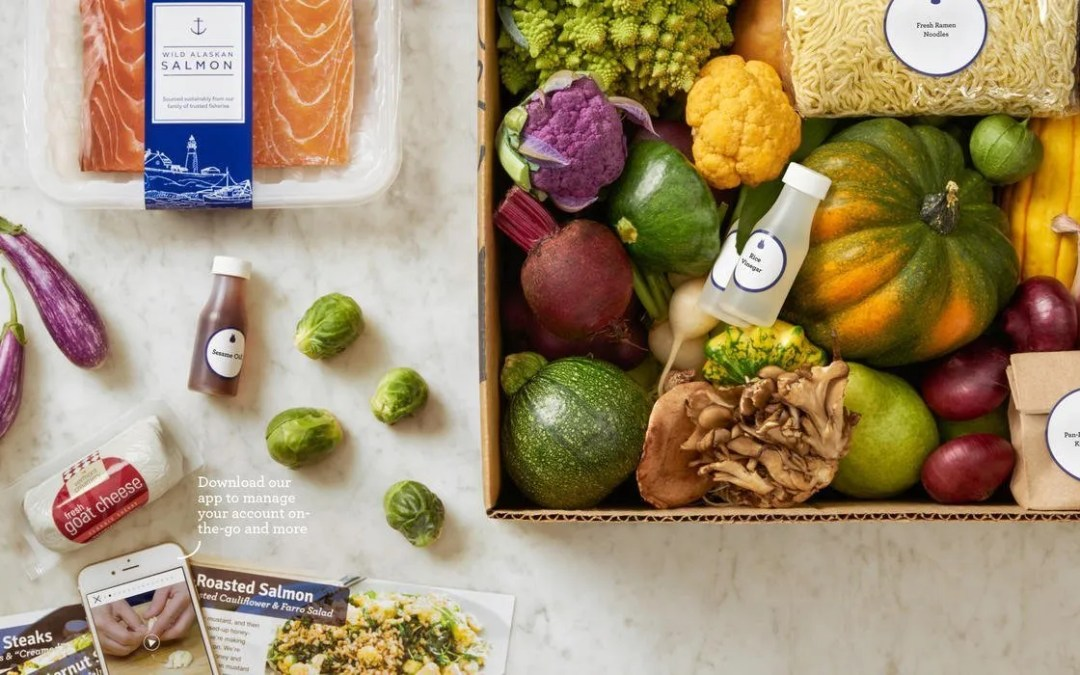 Meal Subscription Box – Blue Apron