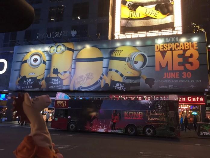 Bullseye in New York City