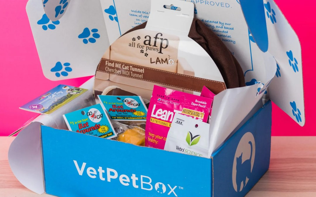 VetPet Box Goodies – Pet Subscription Box