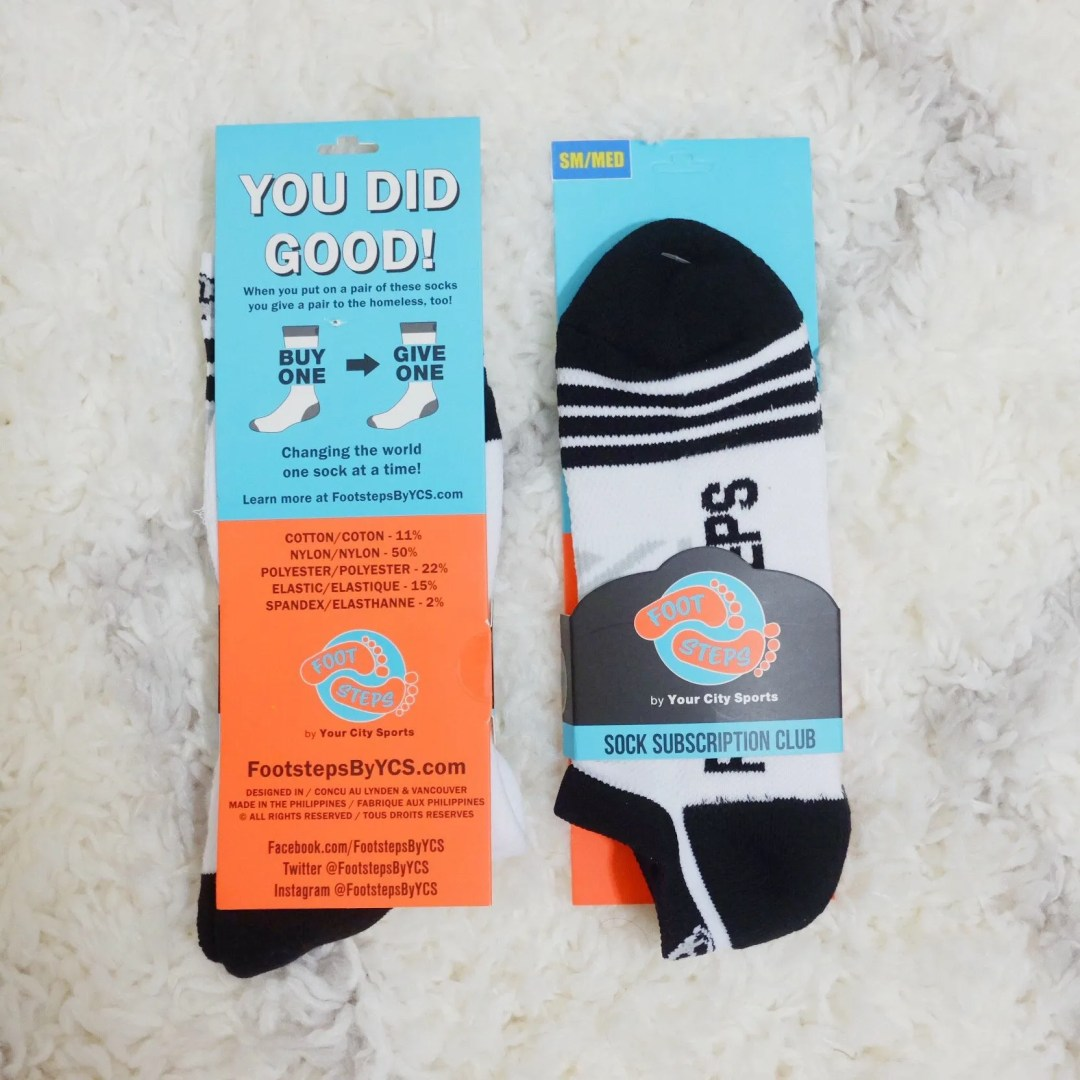 Footsteps Sock Subscription