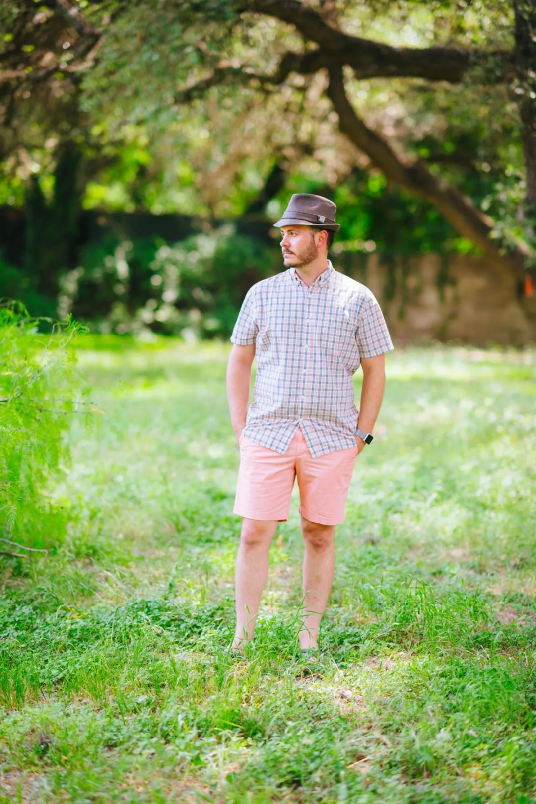 Life/After/Denim Sawyer Plaid Short Sleeve Shirt