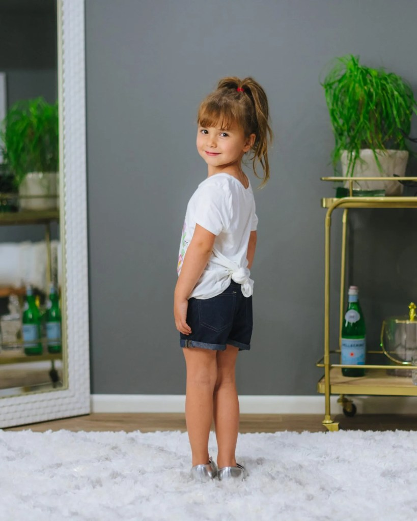 Mia Roll Cuff French Terry Shorts