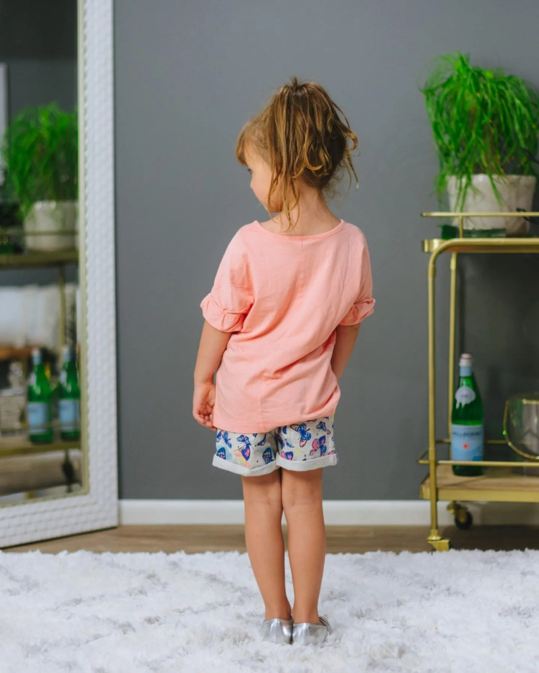 Butterfly shorts