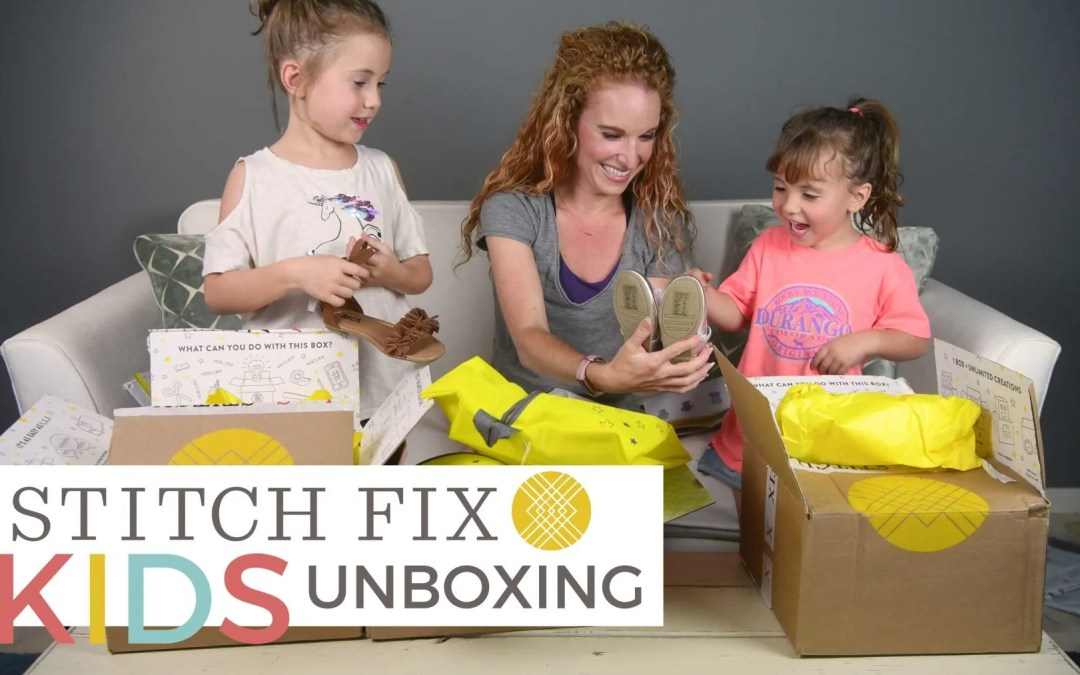 Stitch Fix Kids is Here – Mom & Daughters Unboxing