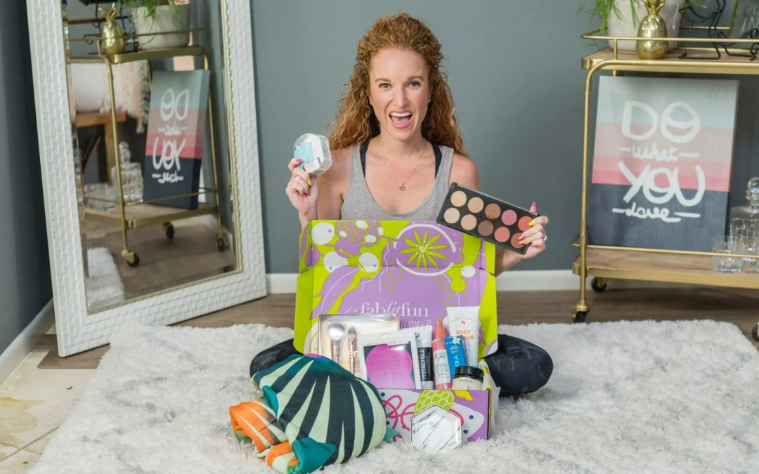 FabFitFun Add ons + Summer 2018 Box