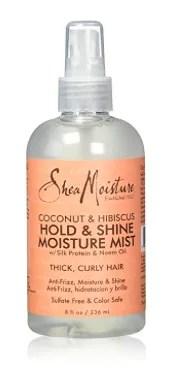Shea Moisture Coconut & Hibiscus Hold & Shine