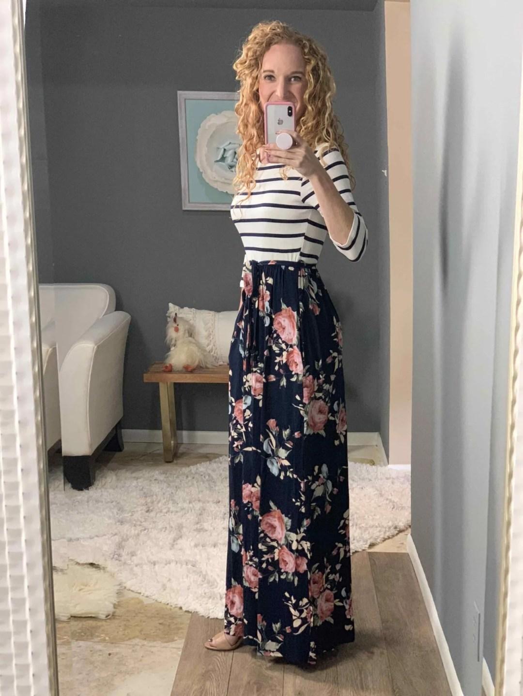 Bernice 2fer Knit Maxi Dress