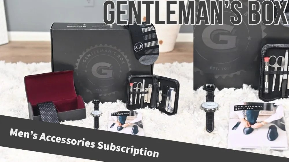 Gentleman's Box Review – Premium Men's Subscription