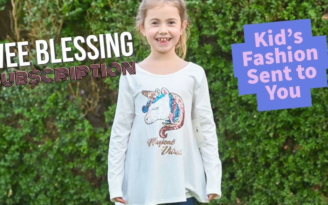 Wee Blessings Review – Kids Clothing Subscription