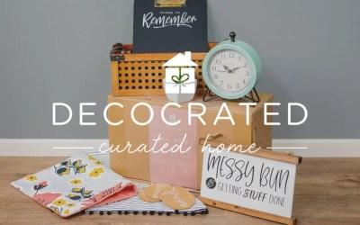 DecoCrated – Decor Subscription Box