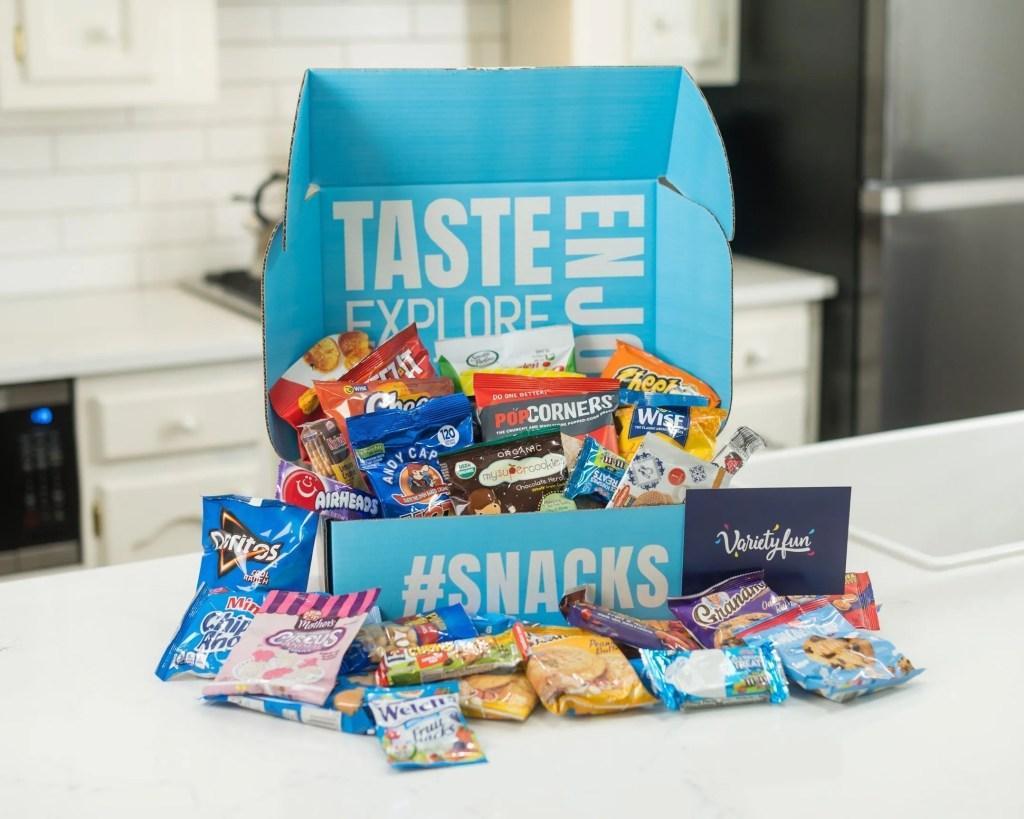 Snacks Delivered to your Door