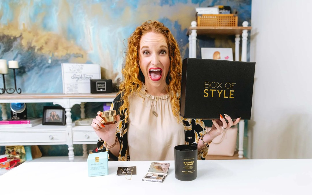 Box of Style by Rachel Zoe Unboxing